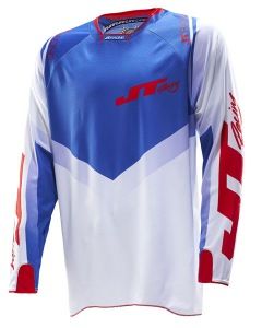 Dres JT Racing Protek V Jersey Red White Blue