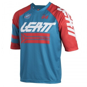 Dres na kolo Leatt DBX 3.0 Jersey Fuel Red