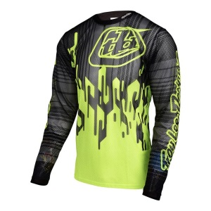 Dres na kolo TroyLeeDesigns Sprint AIR Jersey Code Flo Yellow 2017