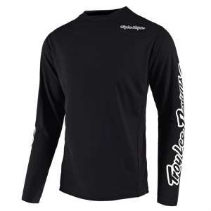 Dres na kolo TroyLeeDesigns Sprint Jersey Solid Black 2020