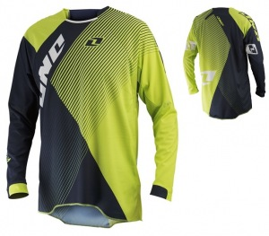 Dres One Industries Gamma Czar Jersey Navy Chartreuse 2014