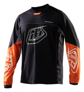 Pánský dres TroyLeeDesigns Adventure Jersey Black Orange 2015