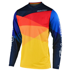 Dres TroyLeeDesigns GP AIR Jersey Jet Yellow Orange 2020