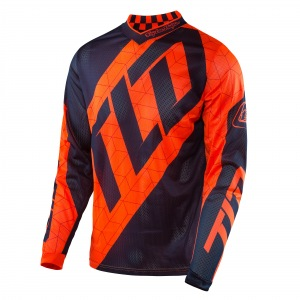Dres TroyLeeDesigns GP AIR Jersey Quest Flo Orange Navy 2017