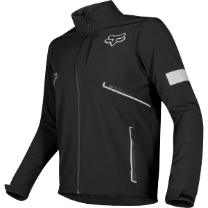 Enduro bunda FOX Legion Softshell Jacket Black 2020