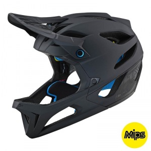 Enduro helma TroyLeeDesigns Stage Stealth Helmet Black