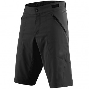 Kraťasy na kolo TroyLeeDesigns Skyline Short Shell Solid Black 2020