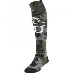 Moto ponožky FOX Coolmax Thick Sock Prix Camo 2020