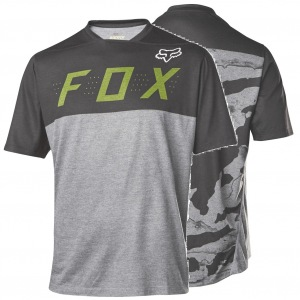 MTB dres FOX Indicator SS Camo Jersey Heather Grey 2017
