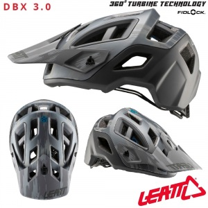 MTB helma LEATT DBX 3.0 All-Mountain Helmet Brushed