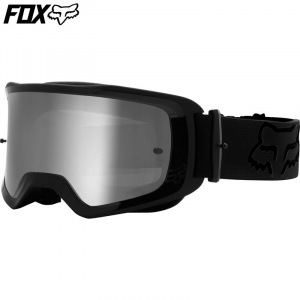 MX brýle FOX Main II Stray Goggle Black 2021