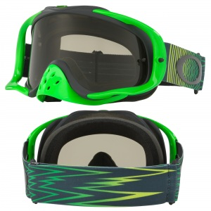 MX brýle Oakley Crowbar Shockwave Green Grey