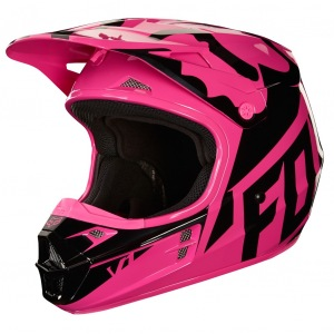 MX helma FOX V1 Race Helmet Pink 2018