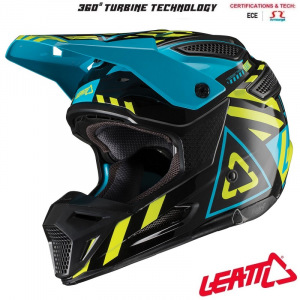 MX helma Leatt GPX 5.5 Composite V19.1 Black Lime 2019