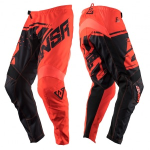 MX kalhoty ANSWER Syncron Pant Red Black 2018