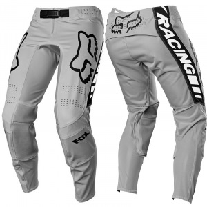 MX kalhoty FOX FlexAir Mach One Pant Steel Grey 2021