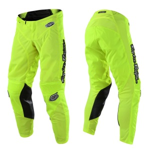 MX kalhoty TroyLeeDesigns GP AIR Pant Mono Flo Yellow 2018