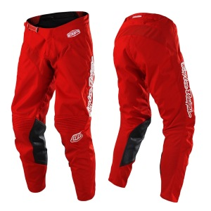 MX kalhoty TroyLeeDesigns GP AIR Pant Mono Red 2019