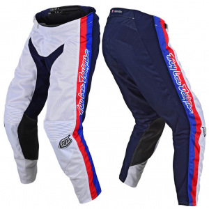 MX kalhoty TroyLeeDesigns GP AIR Pant PREMIX 86 White 2020