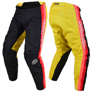 MX kalhoty TroyLeeDesigns GP Pant PREMIX 86 Black Yellow 2020