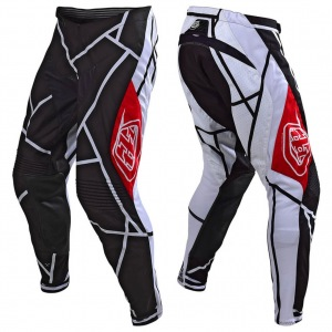 MX kalhoty TroyLeeDesigns SE Pant Metric Black White 2019