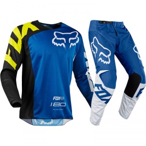MX komplet FOX 180 Race Blue 2018