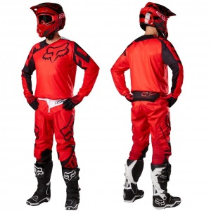 MX komplet FOX 180 Jersey + Pant Race Red 2017