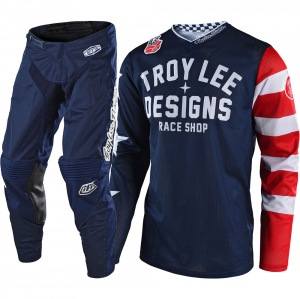 MX komplet TroyLeeDesigns GP Air Americana Navy 2019