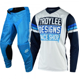 MX komplet TroyLeeDesigns GP Air Mono Blue Carlsbad 2020