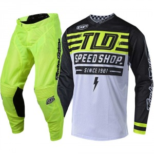 MX komplet TroyLeeDesigns GP Air Mono Bolt Flo Yellow 2019