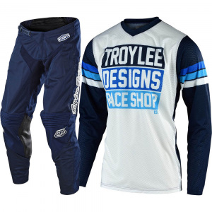 MX komplet TroyLeeDesigns GP Air Mono Navy Carlsbad 2020