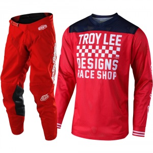 MX komplet TroyLeeDesigns GP Air Mono Raceshop Red  2019