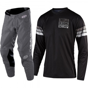 MX komplet TroyLeeDesigns GP Mono Grey Saddleback Set 2019