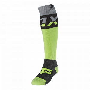 MX ponožky FOX FRI Thick Sock Afterburn Fluorescent Yellow 2021