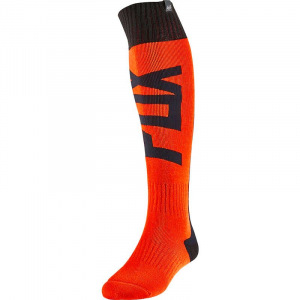 MX ponožky FOX FRI Thick Sock Fyce Flo Orange 2020