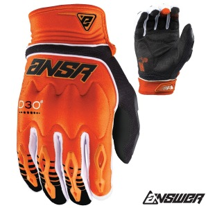 MX rukavice ANSWER AR-5 Glove Orange 2018