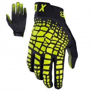 MX rukavice FOX 360 Grav Glove Black Yellow 2017