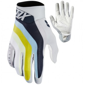 MX rukavice FOX Airline Draftr Glove Light Grey 2018