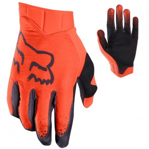 MX rukavice FOX Airline Moth Glove Orange 2017