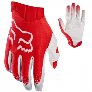 MX rukavice FOX Airline Moth Glove Red 2017