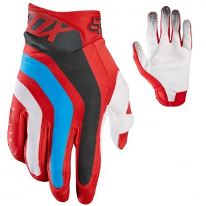 MX rukavice FOX Airline Seca Glove Red 2017