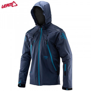 Nepromokavá bunda na kolo Leatt DBX 5.0 All-Mountain Jacket Ink 2020