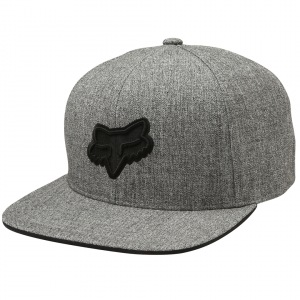 Pánská čepice FOX Legacy SnapBack Hat Heather Grey