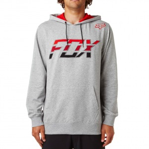 Pánská mikina FOX Stretcher Seca Pullover Fleece Heather Grey