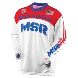 Pánský dres MSR Legend 71 Jersey Red White Blue 2017