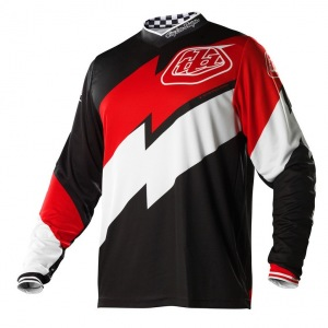 Pánský dres TroyLeeDesigns GP Jersey Astro Black Red 2015