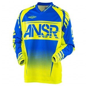 Pánský MX dres ANSWER Syncron Jersey Acid Blue 2017