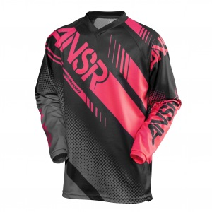 Pánský MX dres ANSWER Syncron Jersey Black Grey Red 2017