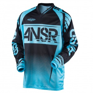 Pánský MX dres ANSWER Syncron Jersey Blue Black 2017