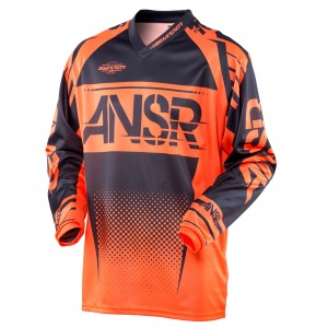 Pánský MX dres ANSWER Syncron Jersey Orange Black 2017